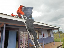 Solar panels will power.
